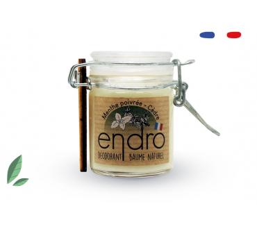 Endro - Déodorant Menthe Poivrée et Cèdre