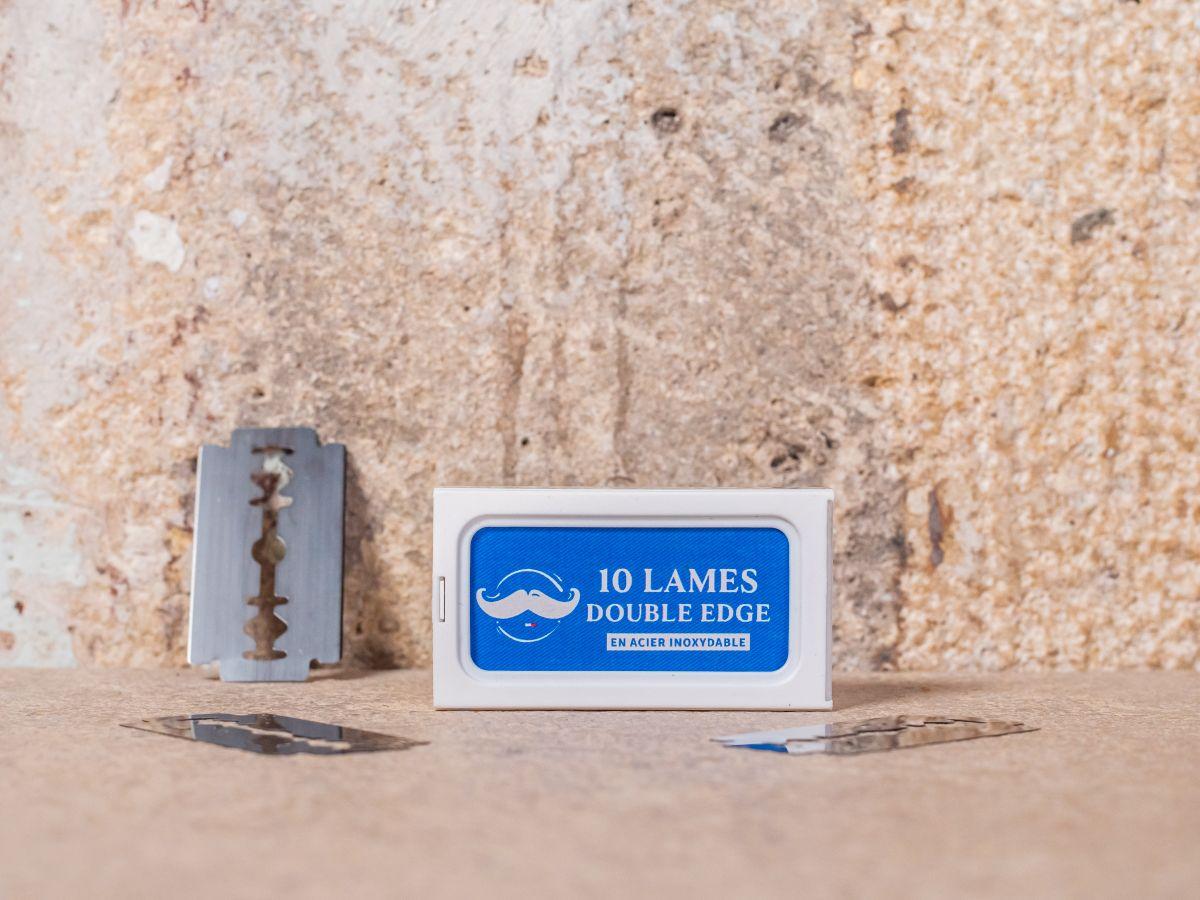 Lames double edge (x10)