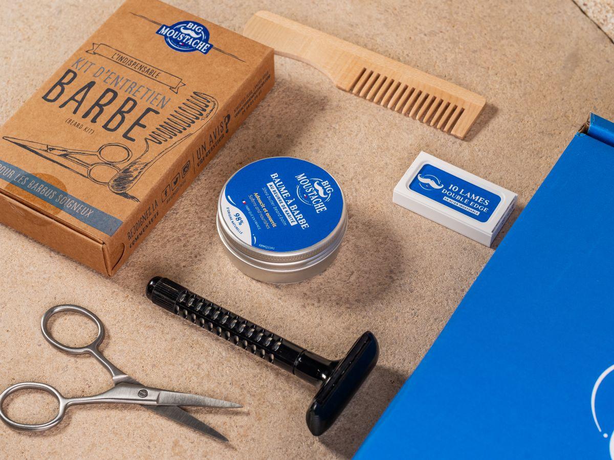 Coffret essentiels de la barbe