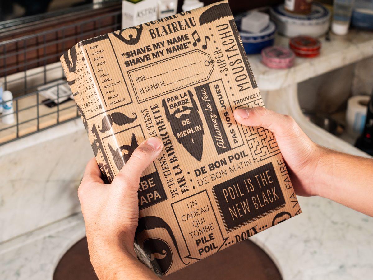 Papier cadeau - Ouvrez, vérifiez, emballez !