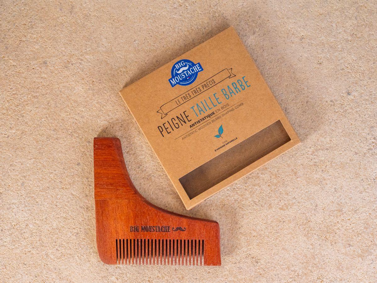 Peigne taille barbe