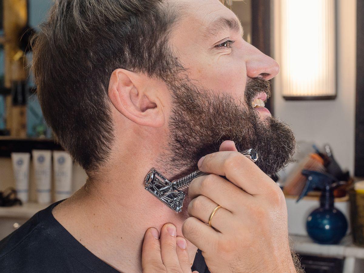 Crème barbe et visage + Peigne à barbe