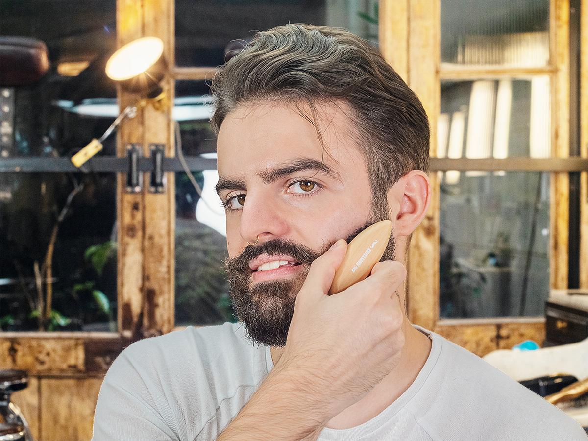 Kit barbe à trous