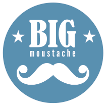 logo barbier bigmoustache paris