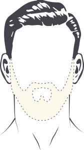comment dessiner contours barbe