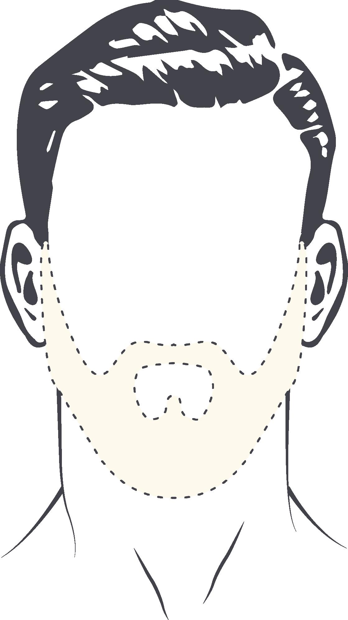Guide pour bien tracer les contours de sa barbe big blog - Dessin contour ...