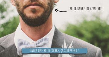 Comment avoir une belle barbe