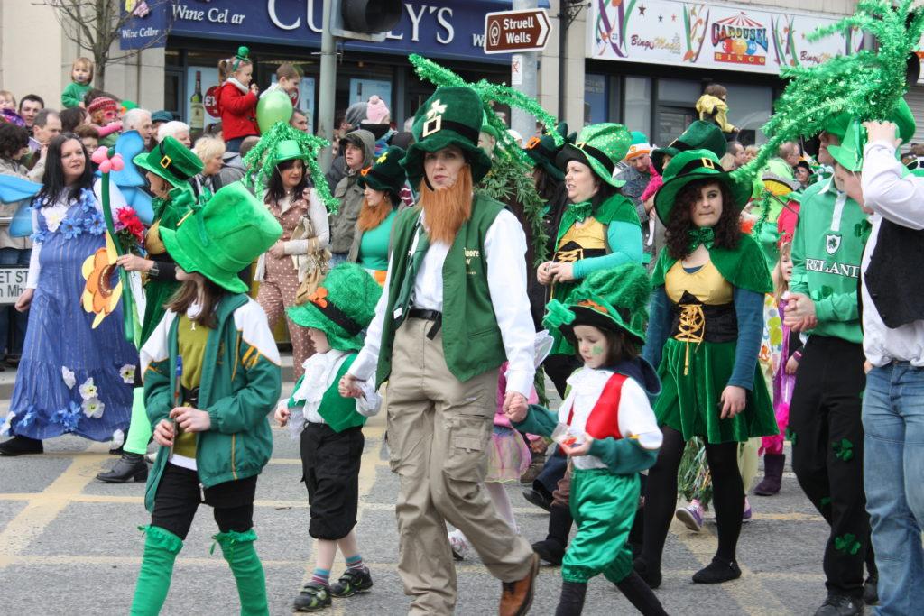Défilés dans les rues pour la Saint Patrick
