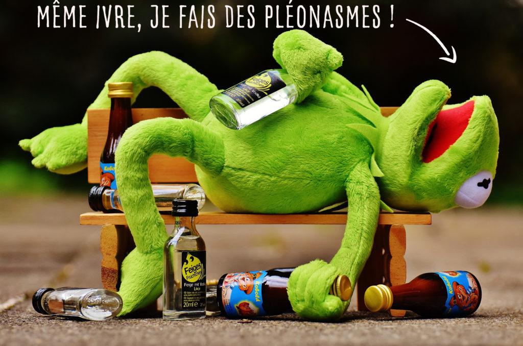 Un taux d'alcoolémie élevé, ça n'excuse pas les pléonasmes !