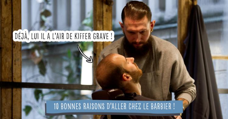 Barbier Raison Soin Client Salon Fauteuil
