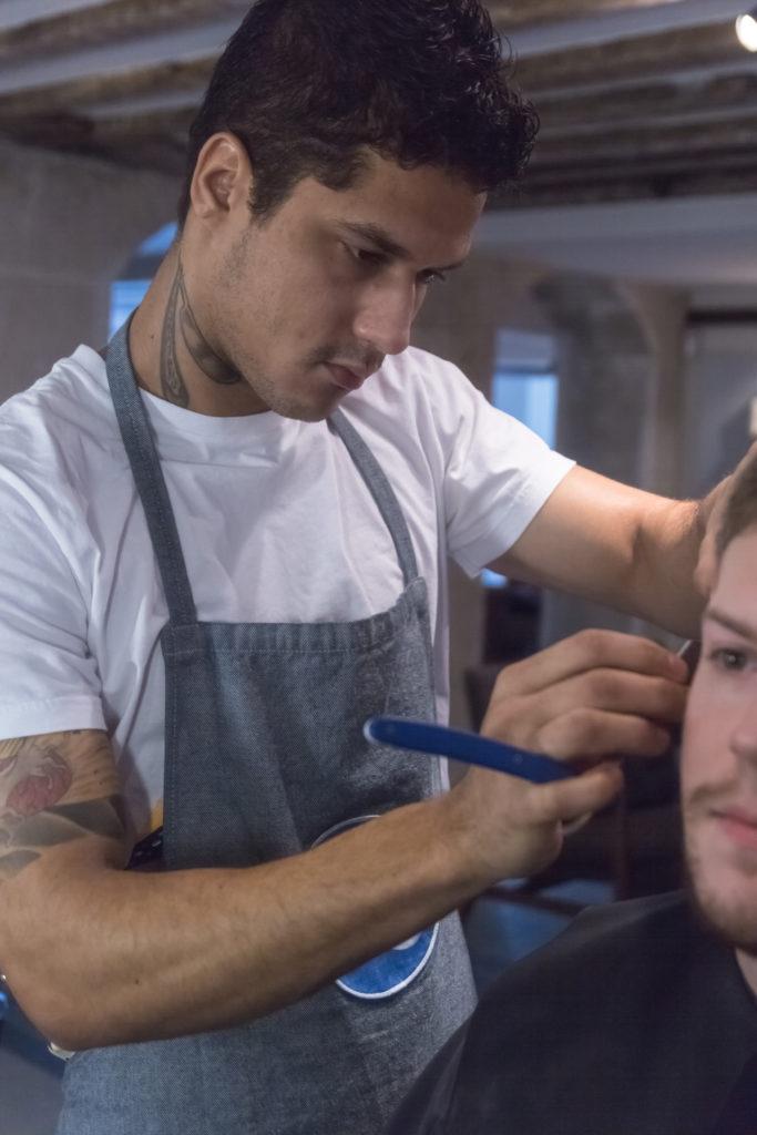 Barbier Salon Raser Client Tablier