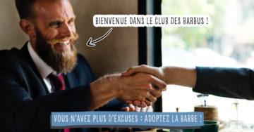 10 bonnes raisons pour devenir barbu !