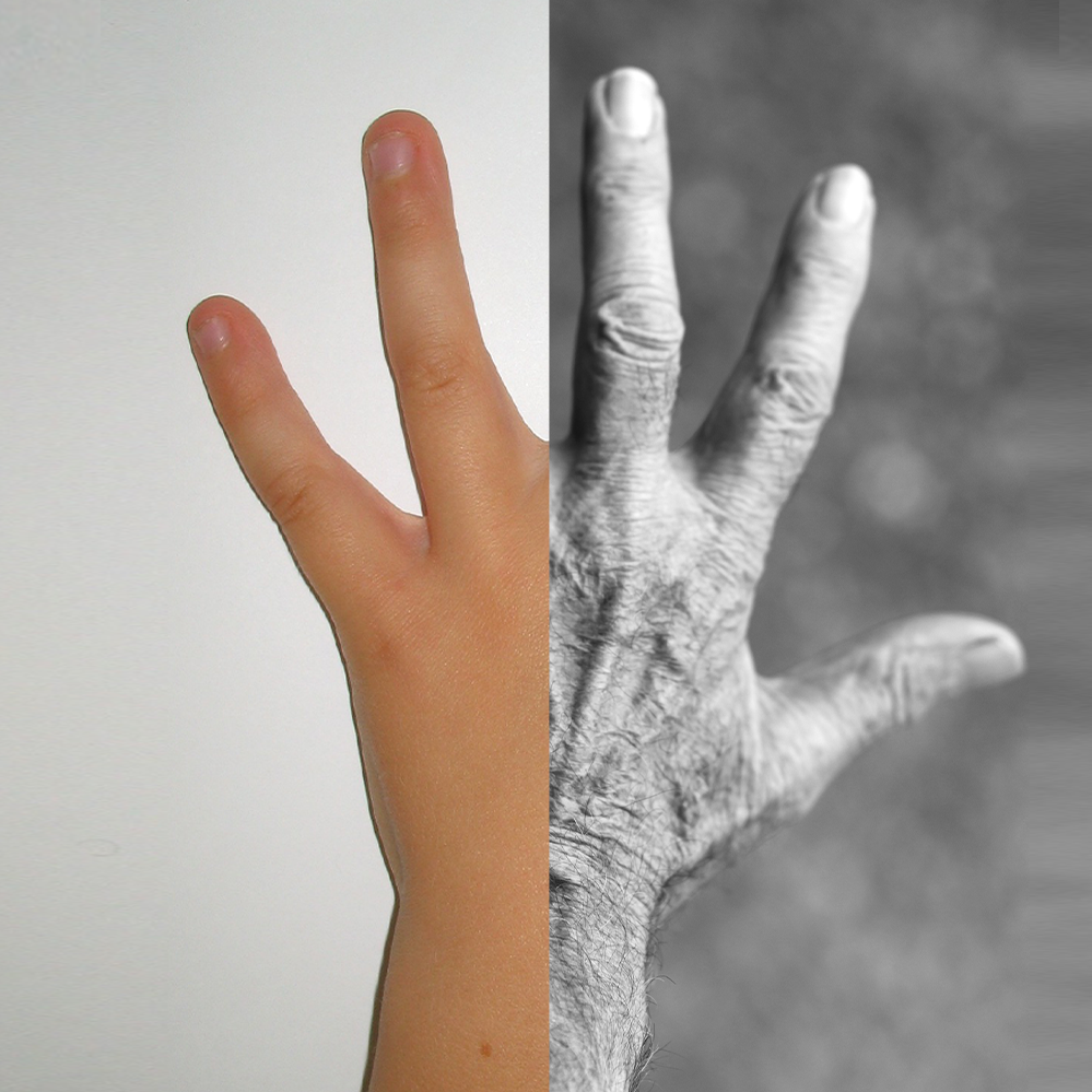 main jeune adulte