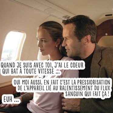 probleme coeur avion