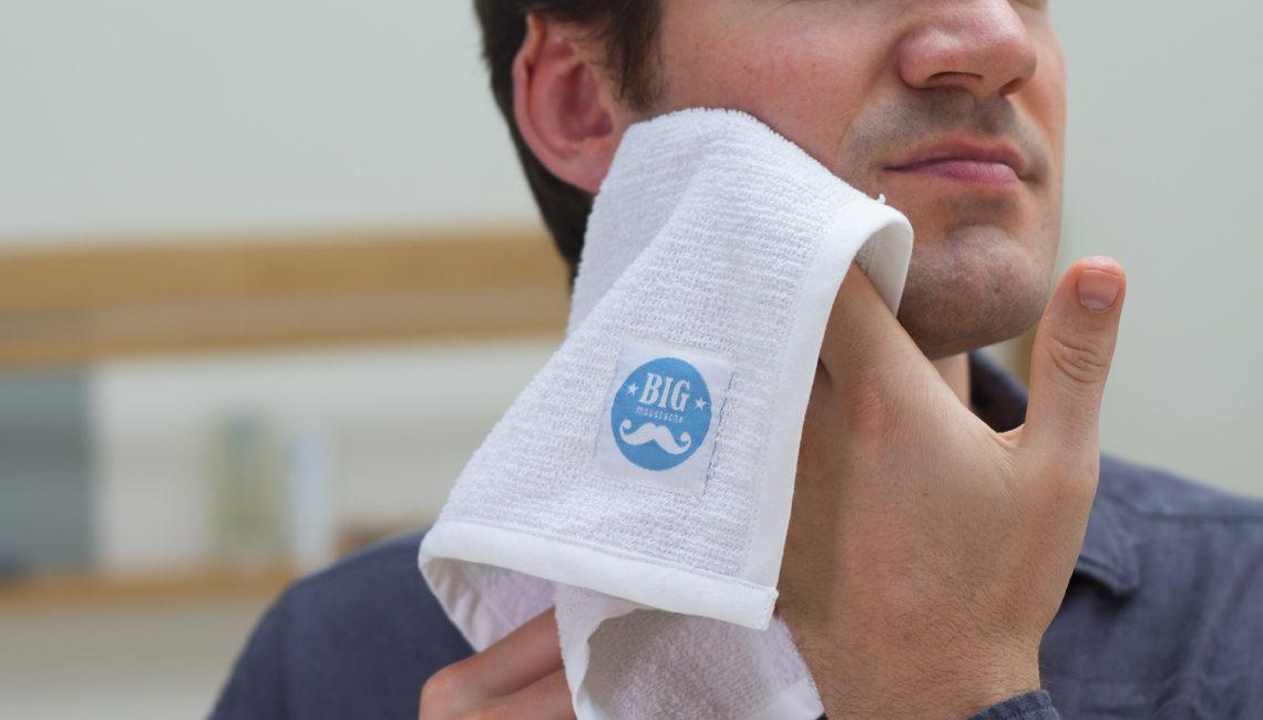 Comment utiliser une serviette chaude