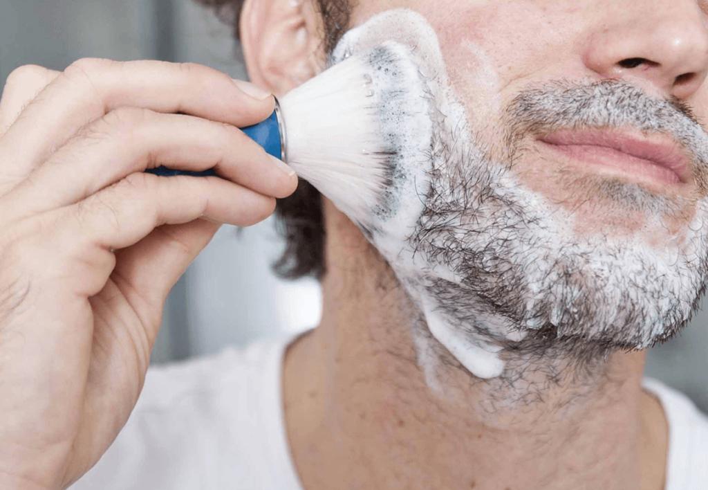 blaireau de rasage Big Moustache