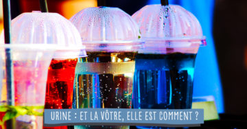 analyse couleur urine