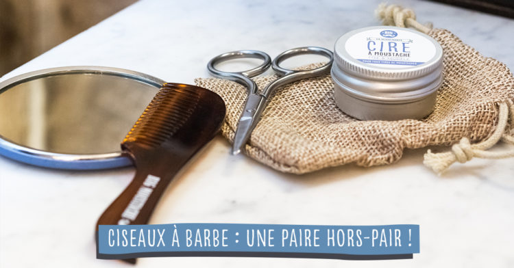 ciseaux à barbe utilisation