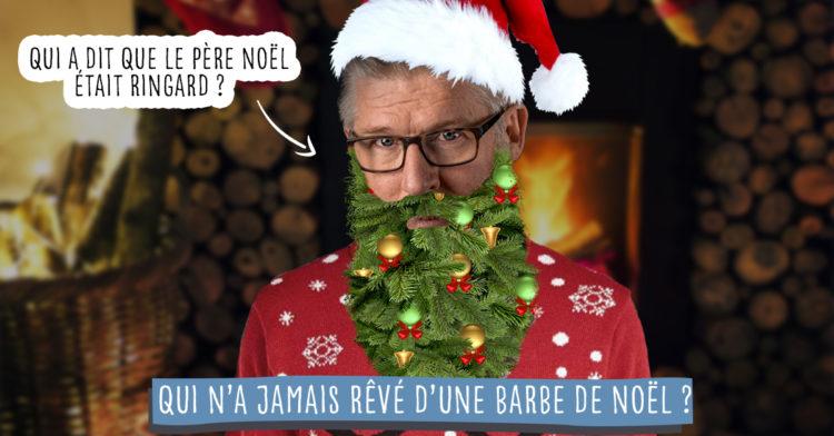 Comment faire barbe Noël