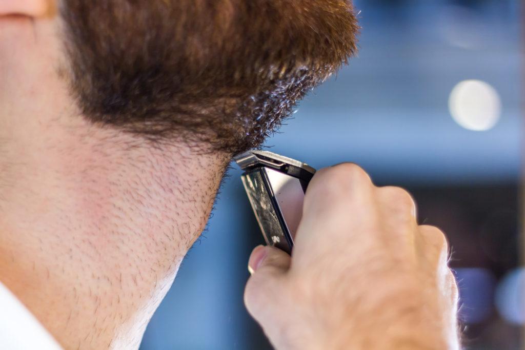 Tondeuse à barbe contours