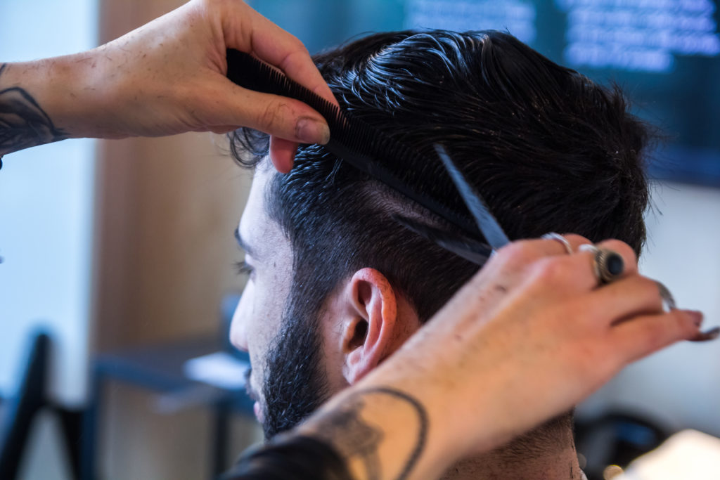 coupe homme coiffeur