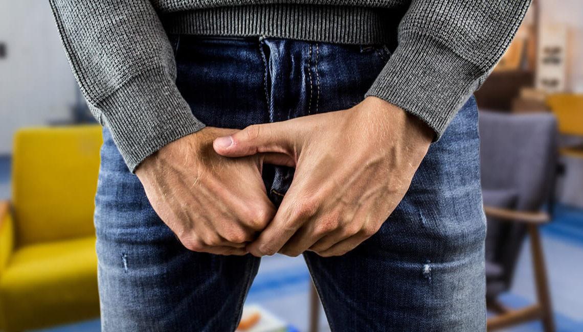 Coup dans les testicules