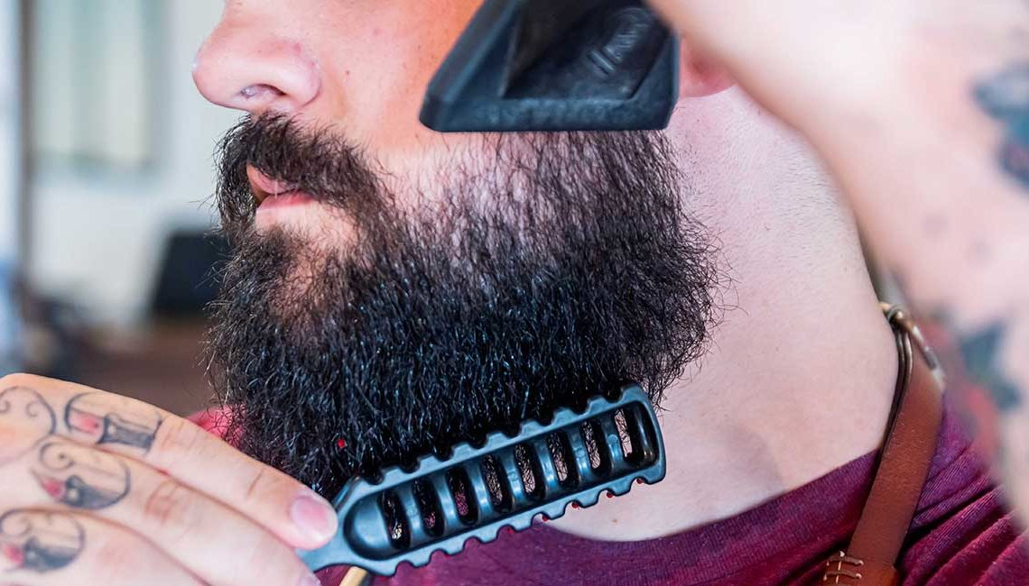 Comment lisser sa barbe