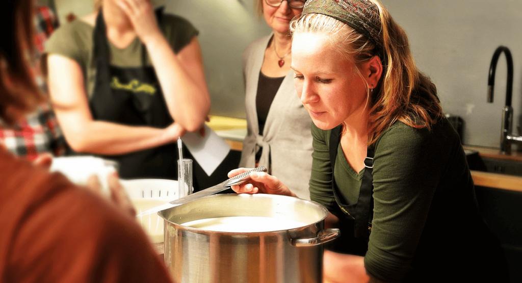 Atelier fabrique fromage
