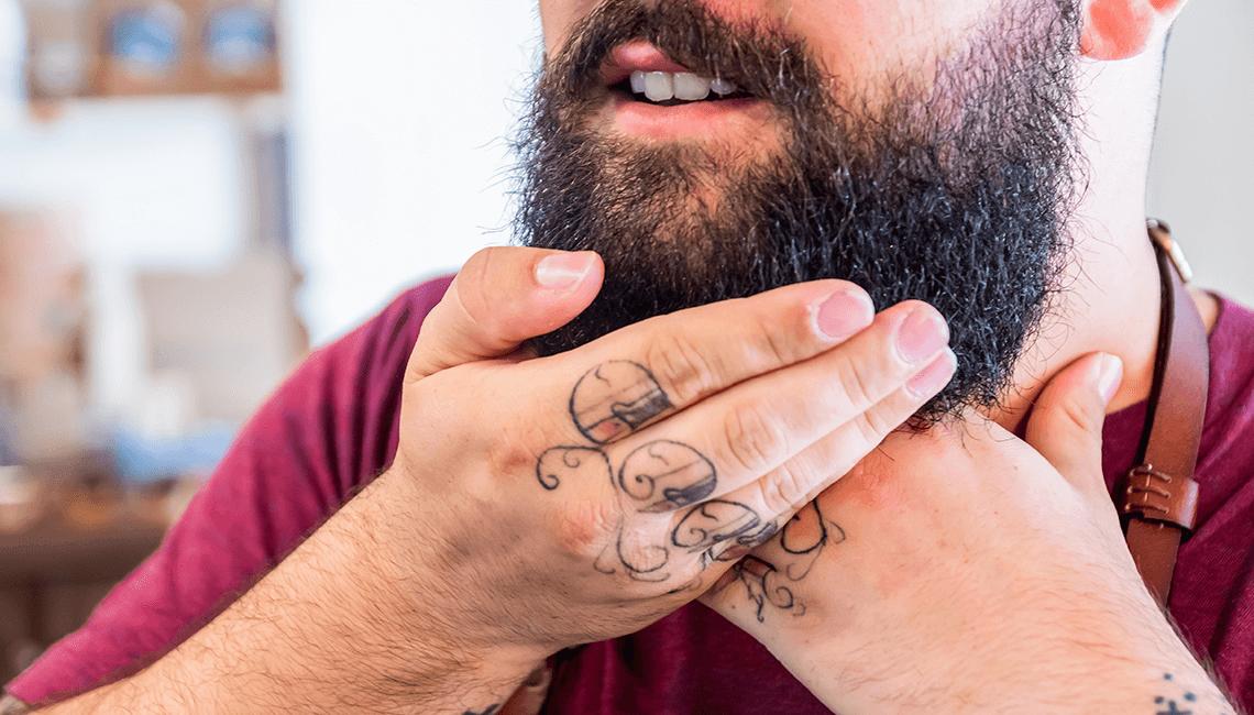 poils de barbe tombent que faire