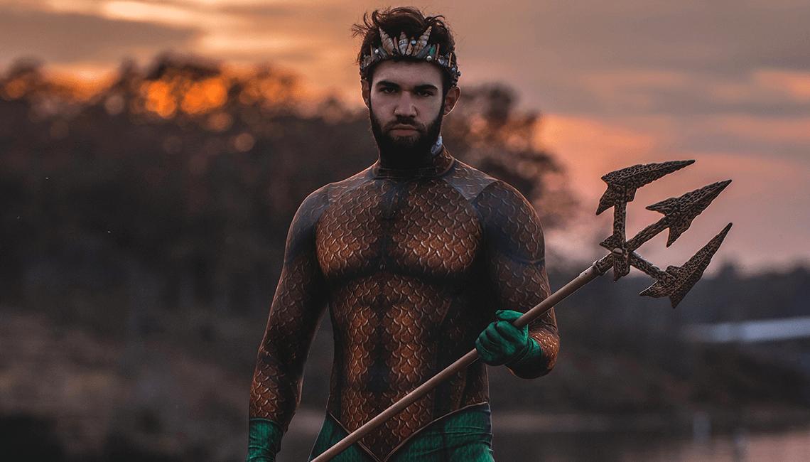 idée déguisement halloween homme barbu