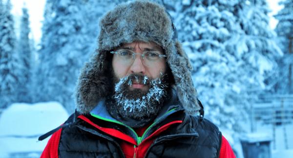 porter la barbe en hiver