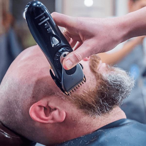dégradé barbe joues