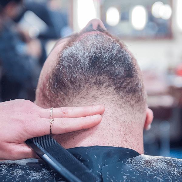 repère cou pour tailler barbe