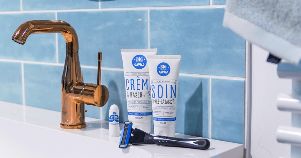Kit de rasage pour une peau en bonne santé