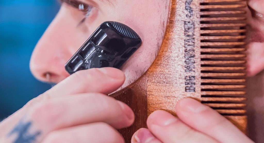 peigne taille barbe rasage
