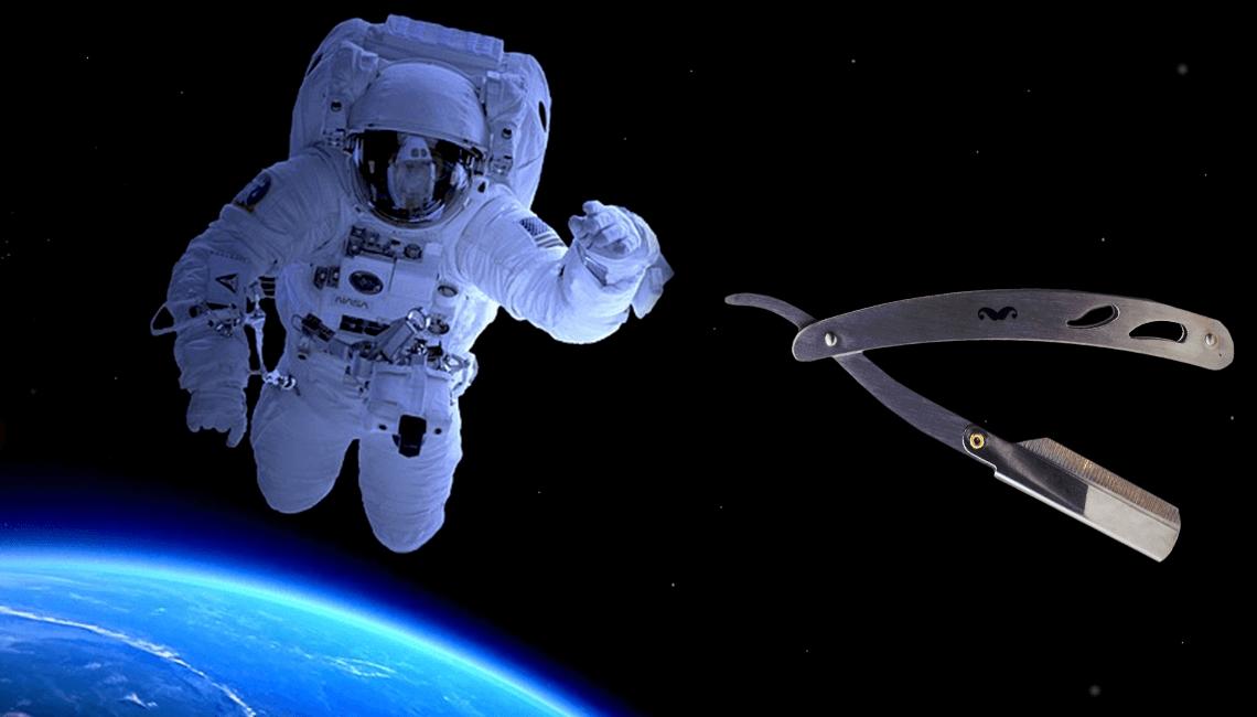 comment se raser dans l'espace