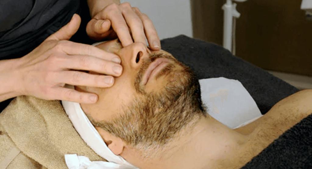massage peau jeune