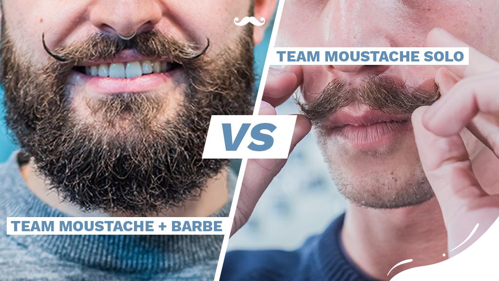Rasage et moustache : avec ou sans barbe